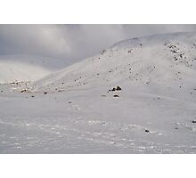 Snow Scene - The Lakes Photographic Print