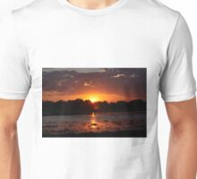 Sunset Reflection on the Water Unisex T-Shirt