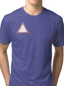 Triangle tingle Tri-blend T-Shirt