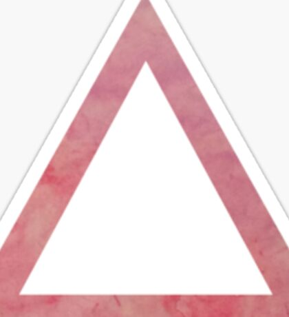 Triangle tingle Sticker