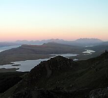 View of the Cuillins from the Storr - Isle of Skye by Kat Simmons