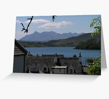 The Cuillins from Portree - Isle of Skye Greeting Card