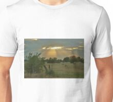 Sun Ray's Shining throught the Cloud's Unisex T-Shirt