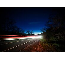 I Drove All Night Photographic Print