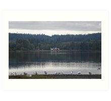 Home With A View - Colwood Lagoon Art Print