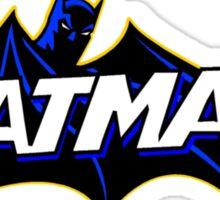 old batman logo Sticker