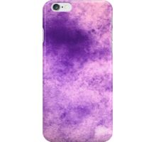 Purple stain iPhone Case/Skin