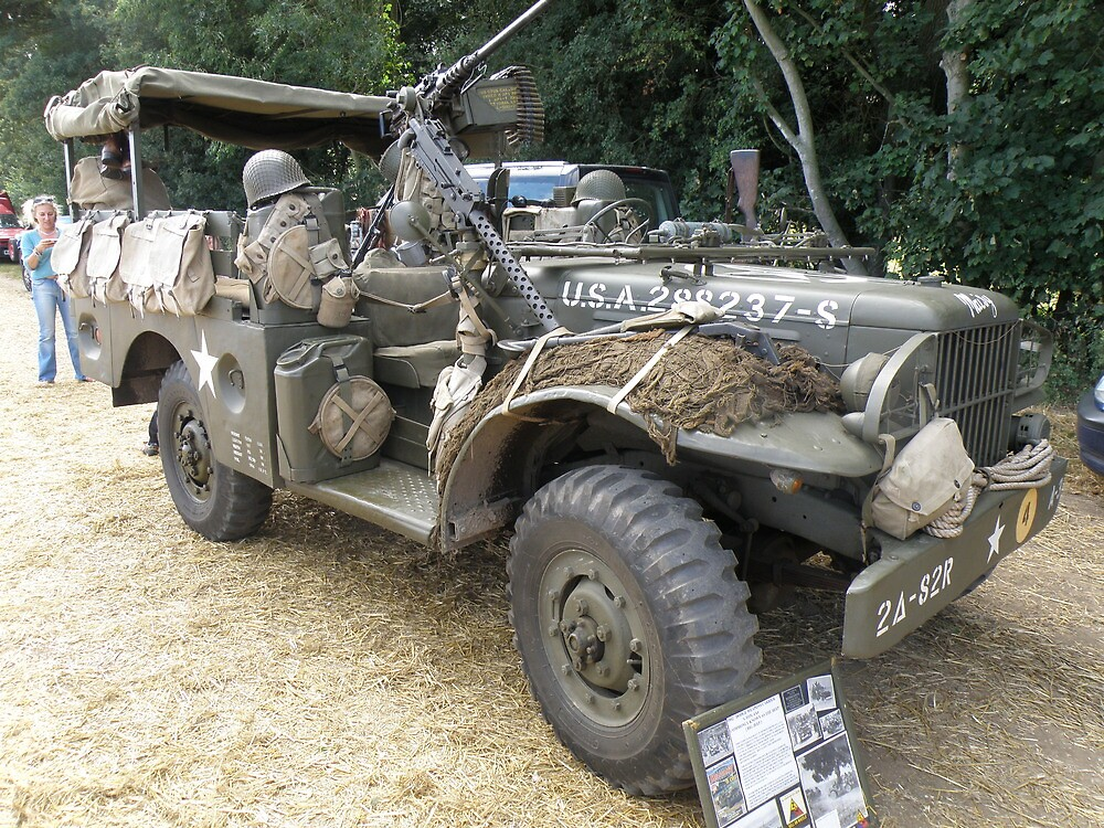 Well Armed Dodge Weapons Carrier by Edward Denyer