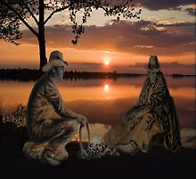 (◡‿◡✿) (◕‿◕✿) SUNSET COWBOYS PICTURE-PILLOW-TOTE BAGS- CELL PHONE COVERS ECT... (◡‿◡✿) (◕‿◕✿) by ✿✿ Bonita ✿✿ ђєℓℓσ