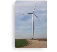 Giant Windmills in the SKY Canvas Print