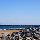The Jetty ...Mouth of the Merrimack River Salisbury Ma by jeanlphotos