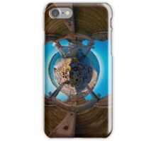 Bare Island pier, Botany Bay (stereographic projection) iPhone Case/Skin