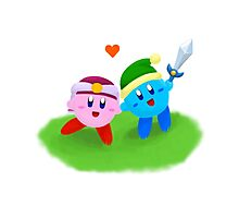 Kirby Couple Photographic Print