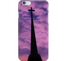Bright and Colorful Cross in the SKY iPhone Case/Skin
