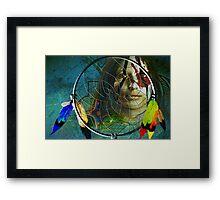 the dream catcher Framed Print