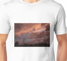 Kansas Stormy Night out back Unisex T-Shirt
