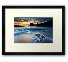 Man O War Bay Framed Print