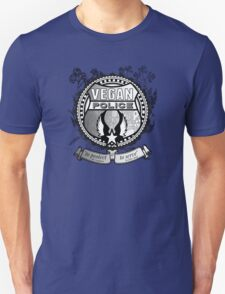 Vegan Police (To protect and to serve) T-Shirt