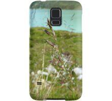 Swaying Grass In Austrian Mountains Samsung Galaxy Case/Skin