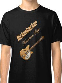 Rickenbacker Natural 12s American Style  Classic T-Shirt
