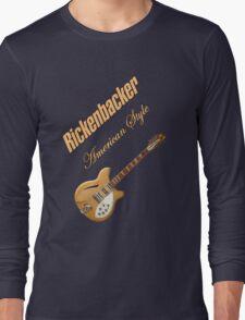 Rickenbacker Natural 12s American Style  Long Sleeve T-Shirt