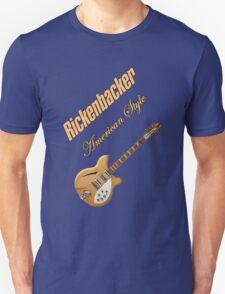 Rickenbacker Natural 12s American Style  Unisex T-Shirt