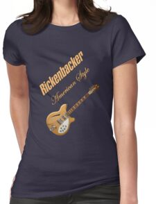 Rickenbacker Natural 12s American Style  Womens Fitted T-Shirt