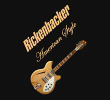 Rickenbacker Natural 12s American Style  Unisex T-Shirt