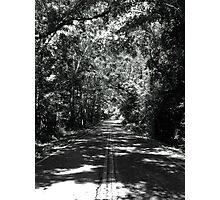 Old Saint Augustine Road Photographic Print