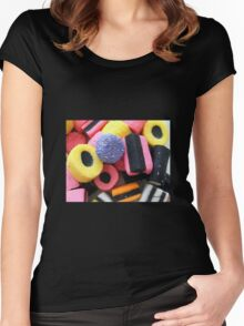 Liquorice Allsorts - You May Take One! Women's Fitted Scoop T-Shirt