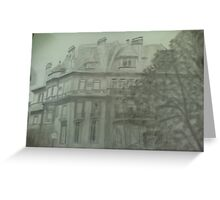 mansion Greeting Card