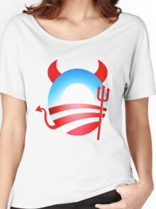 Obama Devil Women's Relaxed Fit T-Shirt