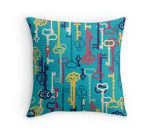 Fairy keys Throw Pillow