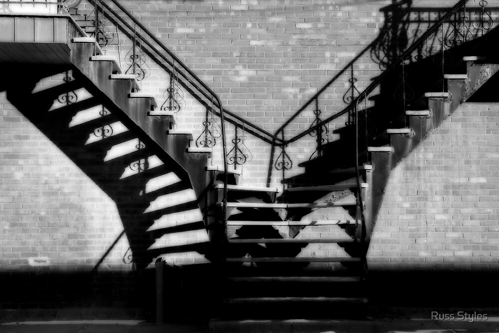 Escaliers a Paradis/ Stairway(s) to Heaven by Russ Styles