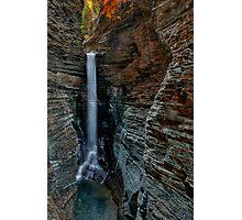 Cavern Cascade Photographic Print