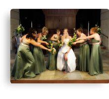 Wedding 4 Canvas Print