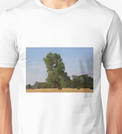 Kansas Country  Tree in a Pasture Unisex T-Shirt