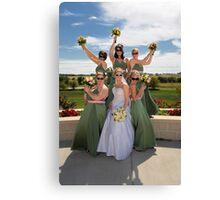 Wedding 6 Canvas Print