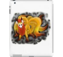 Nine-Tailed Kitsune (White Recommended.) iPad Case/Skin