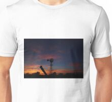 Kansas Bright and Colorful Evening Sunset Unisex T-Shirt