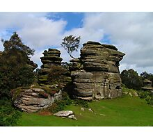 Brimham Rocks - North Yorkshire Photographic Print
