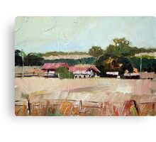Warwick Farm Study Canvas Print