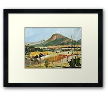 The Gap Study Framed Print