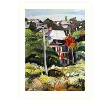 Windsor Hillside Art Print