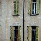Urban Building Windows by amcnabb