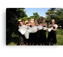 Wedding 13 Canvas Print