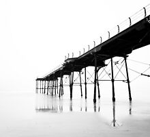Pier (High key) by PaulBradley