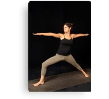 Yoga 1 Canvas Print