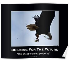 Bald Eagle Motivational Poster Poster