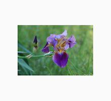 Purple Iris Bright and Colorful Unisex T-Shirt